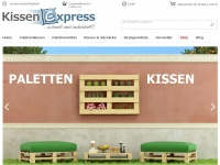 kissenexpress.de Webseite Vorschau