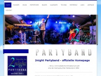 2night-partyband.de Webseite Vorschau