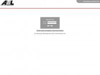 aml-material.de Webseite Vorschau