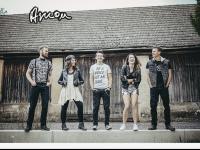 amon-band.at Webseite Vorschau