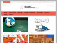 kv-tbb.de Webseite Vorschau
