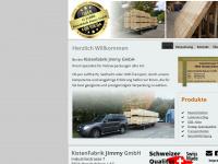 kistenfabrik.info Webseite Vorschau