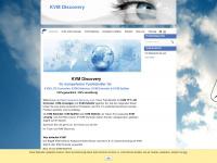 kvm-discovery.com Webseite Vorschau