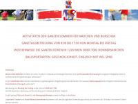 kidsaktiv.at Webseite Vorschau