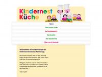 kindernest-kueche.de Webseite Vorschau