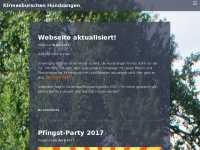 kirmesburschen.com Webseite Vorschau