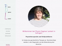 physio-dagmar-lenkeit.de Webseite Vorschau