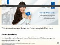 physio-deuser-bauer.de Webseite Vorschau