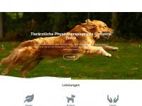 physiotierarzt-wetzen.de Webseite Vorschau