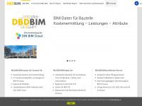 dbd-bim.de Webseite Vorschau