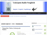 unterputz-radio-test.de Thumbnail