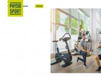 physioundsport.ch Webseite Vorschau