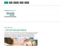 physiotherapie-lakirdaki.de Webseite Vorschau