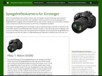 spiegelreflexkamera-fuer-einsteiger.eu