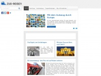 zug-reisen.ch Webseite Vorschau