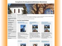 kirchemm.de Webseite Vorschau
