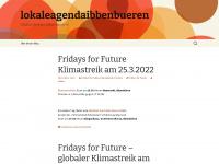 lokaleagendaibbenbueren.wordpress.com Webseite Vorschau
