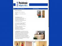 physiotherapie-herz.de Webseite Vorschau