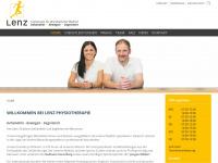 physiotherapielenz.at Webseite Vorschau