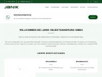 janik-ausbau.de Webseite Vorschau