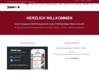 3sam-kirchengemeinde.de Webseite Vorschau