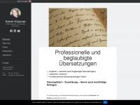 amrei-translation.de Webseite Vorschau