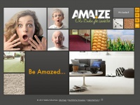 amaize.eu Webseite Vorschau