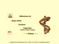 treppenbau-stelter.de Webseite Vorschau