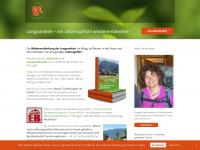 zufussunterwegs.com Webseite Vorschau