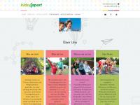 kids4sport.at Webseite Vorschau