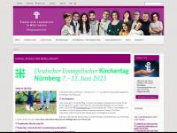 kirche-und-religionsunterricht.de Webseite Vorschau