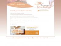 physiotherapie-matthes.de Webseite Vorschau