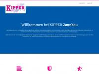 kipper-zaunbau.de Webseite Vorschau