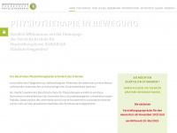 physiotherapieschule-deggendorf.de Webseite Vorschau