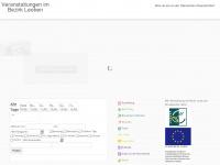 veranstaltungen-bezirk-leoben.at Webseite Vorschau