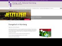 nuernberg-evangelisch.de Webseite Vorschau