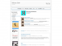7oe.de Webseite Vorschau