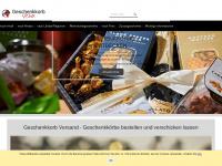 geschenkkorbwelt.de Webseite Vorschau