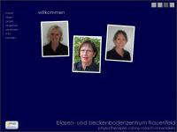 physio-crm.com Webseite Vorschau