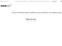 amavat.de Webseite Vorschau