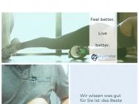 physiovital-berkheim.de Webseite Vorschau