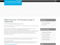 1a-ferienwohnungen-halberstadt.de Webseite Vorschau