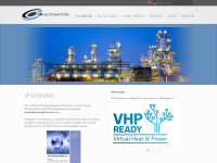 3p-automation.lu Webseite Vorschau