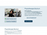 physiotherapie-karimi.de Webseite Vorschau
