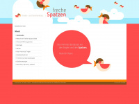 kinderhaus-frechespatzen.de Webseite Vorschau