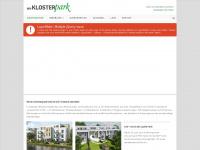 am-klosterpark.de Webseite Vorschau