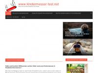 kindermesser-test.net Webseite Vorschau