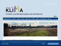kirchefuerklima.de Webseite Vorschau