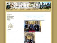 kirche-st-nicolai-foehr.de Webseite Vorschau