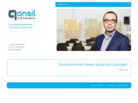 qconsil.de Webseite Vorschau
